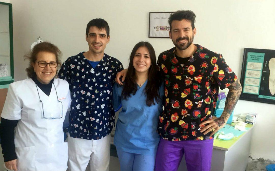 Voluntarios de Odontoloxía Solidaria en Tetuán atenden a máis de 300 pacientes